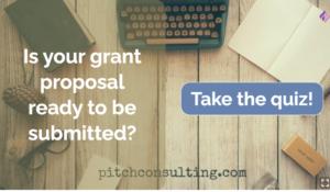 grant proposal ready quiz